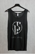 Lonely Spring - Tank Blk