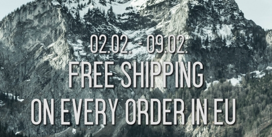 1 Week - FREE SHIPPING ON EVERY ORDER -
